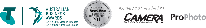 Rihac Telstra Finalist, Womens Weekly Product of the Year, Camera Pro, Photo Pro