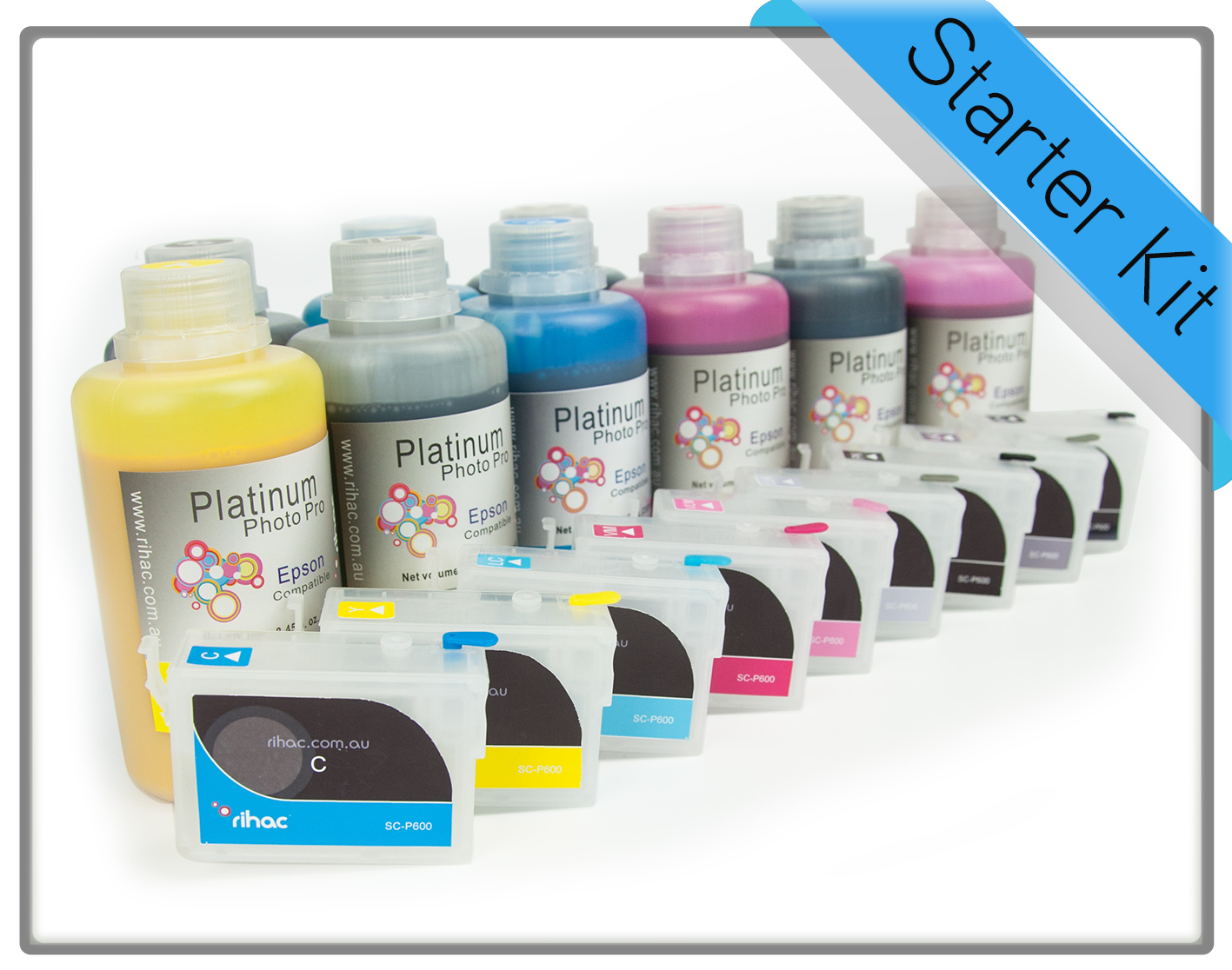 SC-P600 Sure Colour 250ml Starter Kit