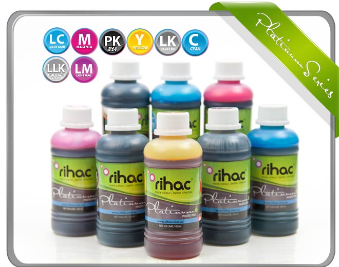 8 x 100ml ink set T0591-T0599 compatible