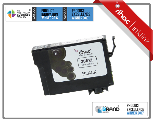 288XL Black Rihac Premium Ink Cartridge