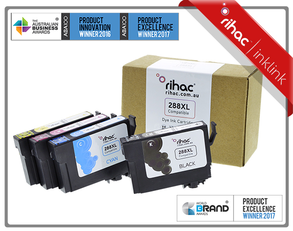 288XL Rihac premium Ink Cartridge Set