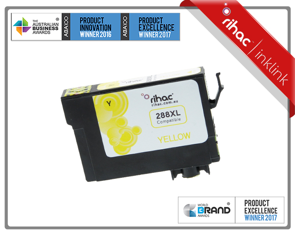 288XL Yellow Rihac Premium Ink Cartridge