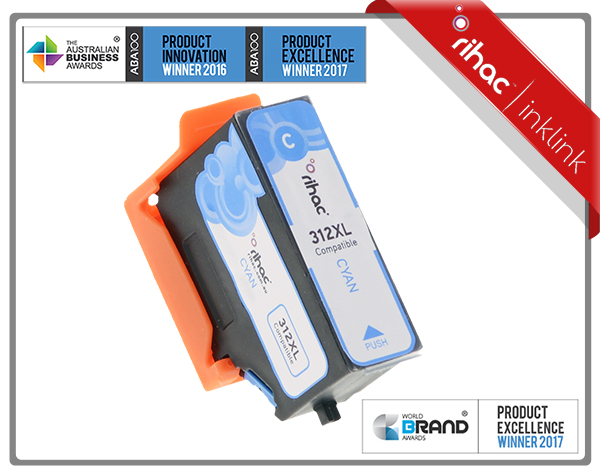 312XL Cyan Rihac Ink Cartridge