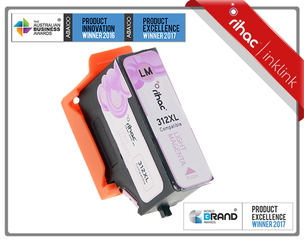 312XL Light Magenta Ink Cartridge