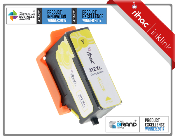 312XL Yellow Rihac Ink Cartridge