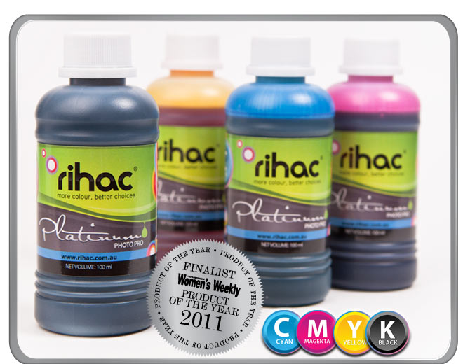 4 x 100ml Ink Set K550