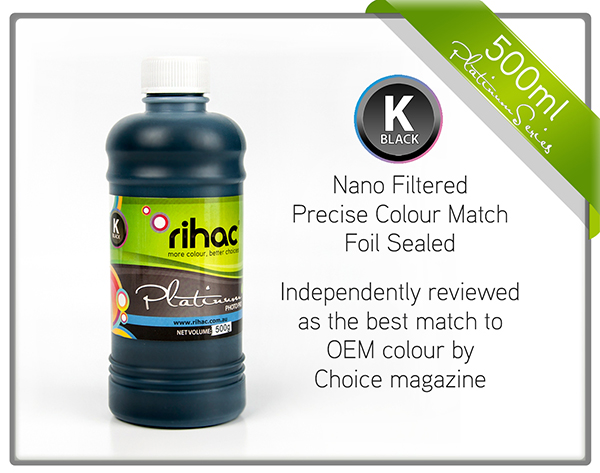 500ml Black ink 29 & 29XL compatible