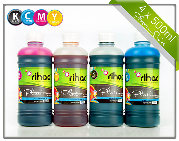 4 x 500ml ink set 29 & 29XL compatible