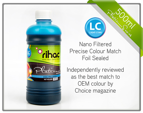 500ml Light Cyan ink 81 & 82n compatible