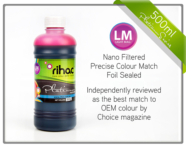500ml Light Magenta ink 81 & 82n compatible