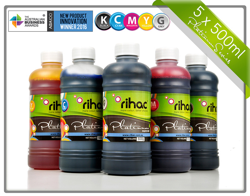 5 x 500ml ink set CLI-671 & PGI-670 compatible