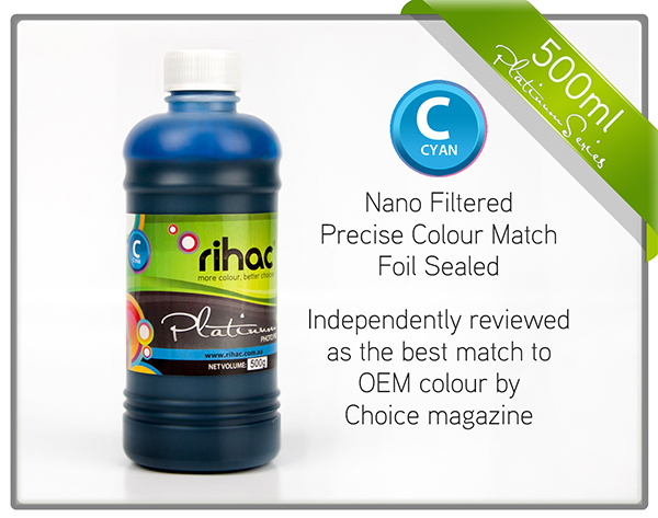 500ml Cyan ink 29 & 29XL compatible