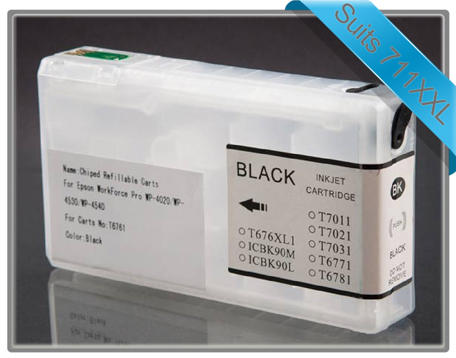Workforce Pro 4090 & 4590 Refillable Cartridge Black