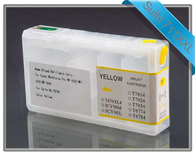 Workforce Pro 4090 & 4590 Refillable Cartridge Yellow