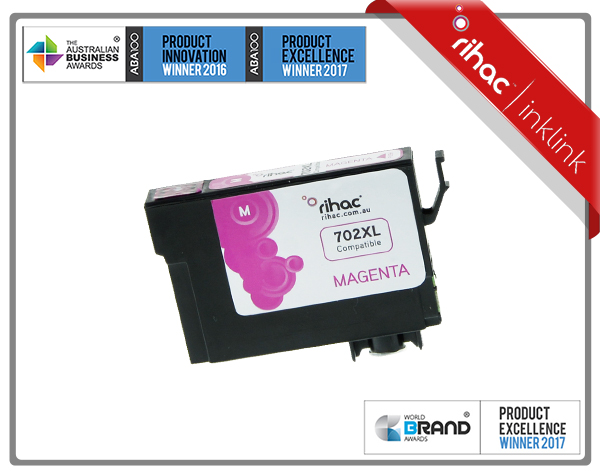 702XL Magenta Rihac Ink Cartridge