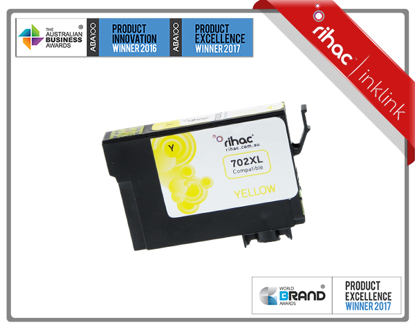 702XL Yellow Rihac Ink Cartridge