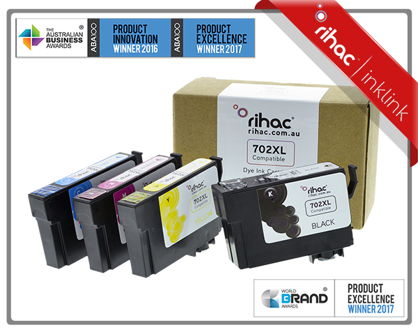 702XL Rihac Ink Cartridge Set