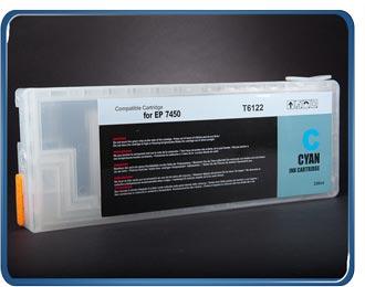 Stylus Pro 7450 9450 refillable cartridge cyan T6122, T6112, T5432, T5442 by rihac.com.au ciss specialists