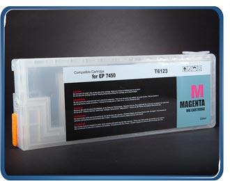 Stylus Pro 7450 9450 refillable cartridge Magenta T6123, T6113, T5433, T5443 by rihac.com.au ciss specialists