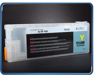 Stylus Pro 7450 9450 refillable cartridge Yellow T6124, T6114, T5434, T5444 by rihac.com.au ciss specialists