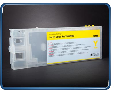 Stylus Pro 7600 9600 refillable cartridge Yellow T6134, T6144, T5434, T5444 by rihac.com.au ciss specialists