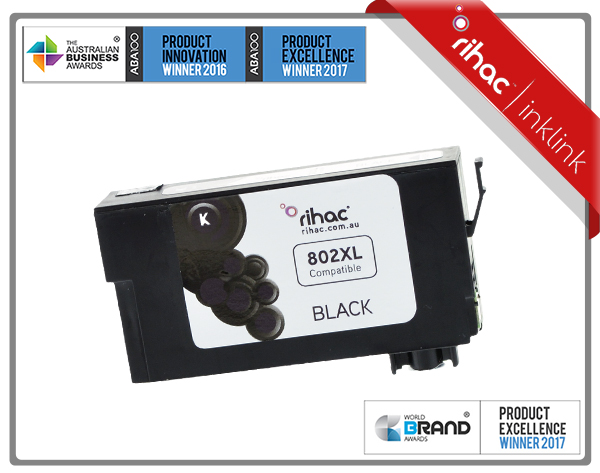 802XL Black Non Genuine Ink Cartridge