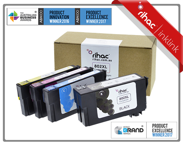 802XL Non Genuine Ink Cartridge Set