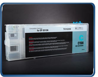 (B510) T6172 T6162 Cyan Refillable cartridge