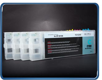 (B510) T6171-4 Refillable cartridge set