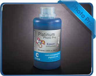 Photo Pro 250ml Cyan - 4400