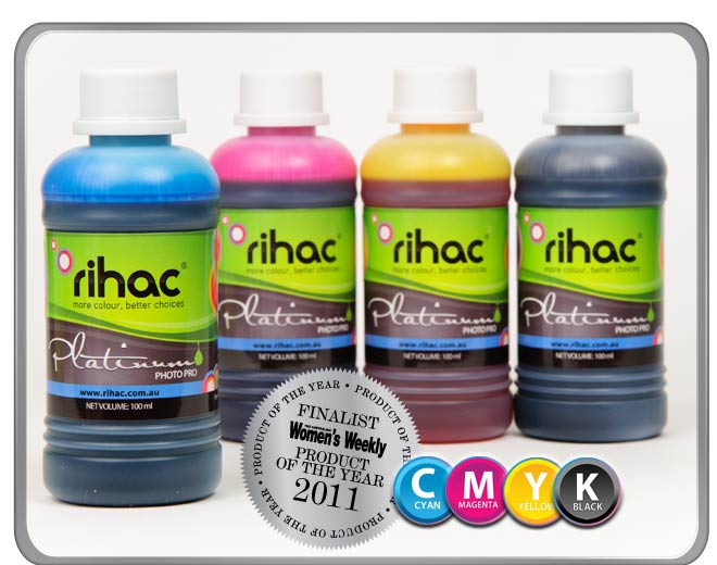 4 x 100ml ink set to suit PG640 & CL641 Canon