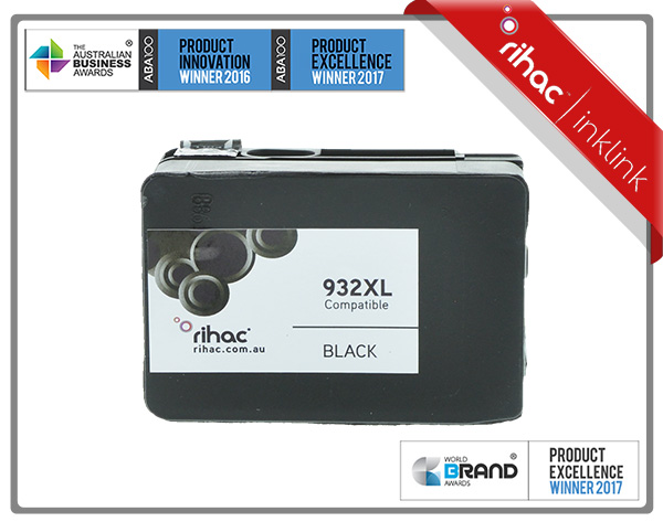 932XL Black Rihac Ink Cartridge