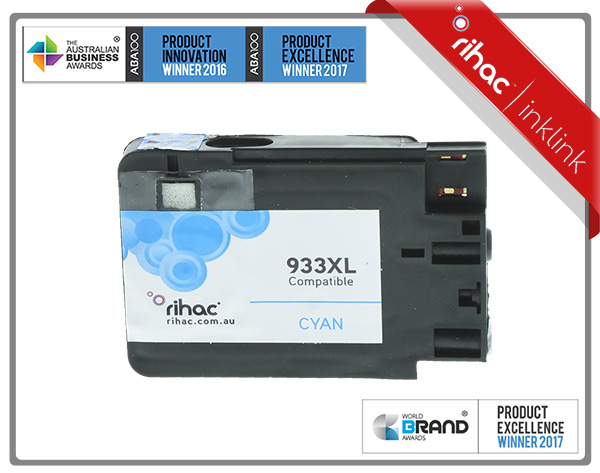 933XL Cyan Rihac Ink Cartridge