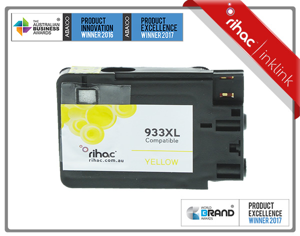 933XL Yellow Rihac Ink Cartridge