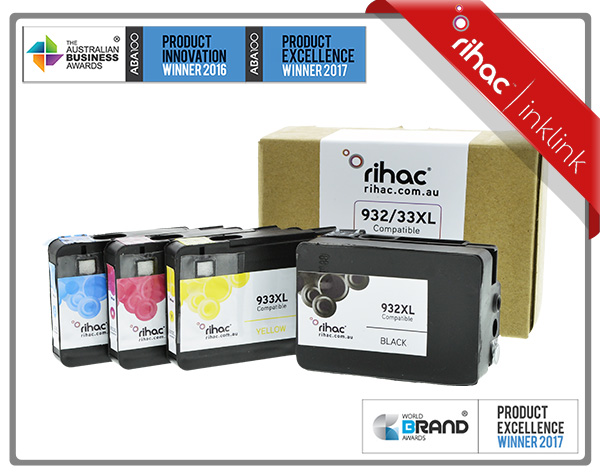 932XL & 933XL Rihac Ink Cartridge Set