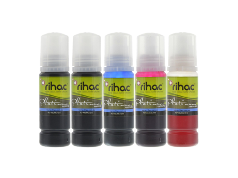 5 x 70ml 512 Epson EcoTank Ink Set
