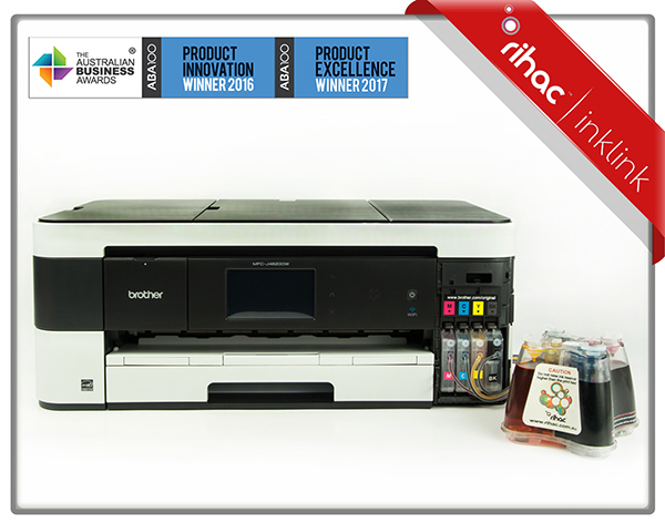 Brother MFC-J4620DW Printer + LC233 Inklink CISS