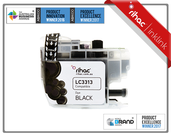 LC3313 Rihac Black Ink Cartridge