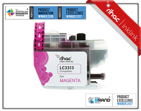 LC3313 Rihac Magenta Ink Cartridge