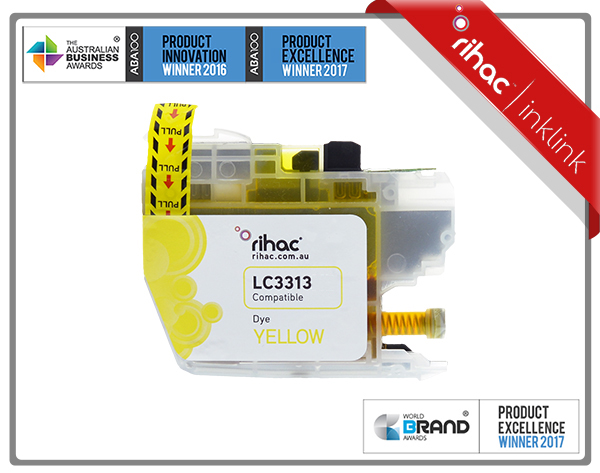 LC3313 Rihac Yellow Ink Cartridge