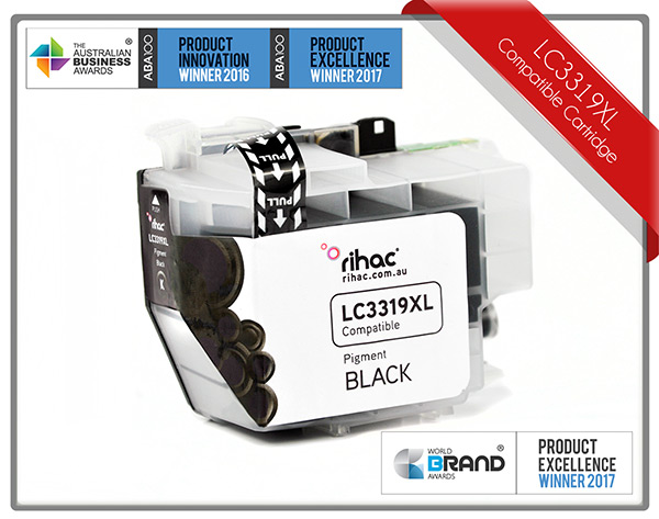 LC3319XL Black Rihac Ink Cartridge