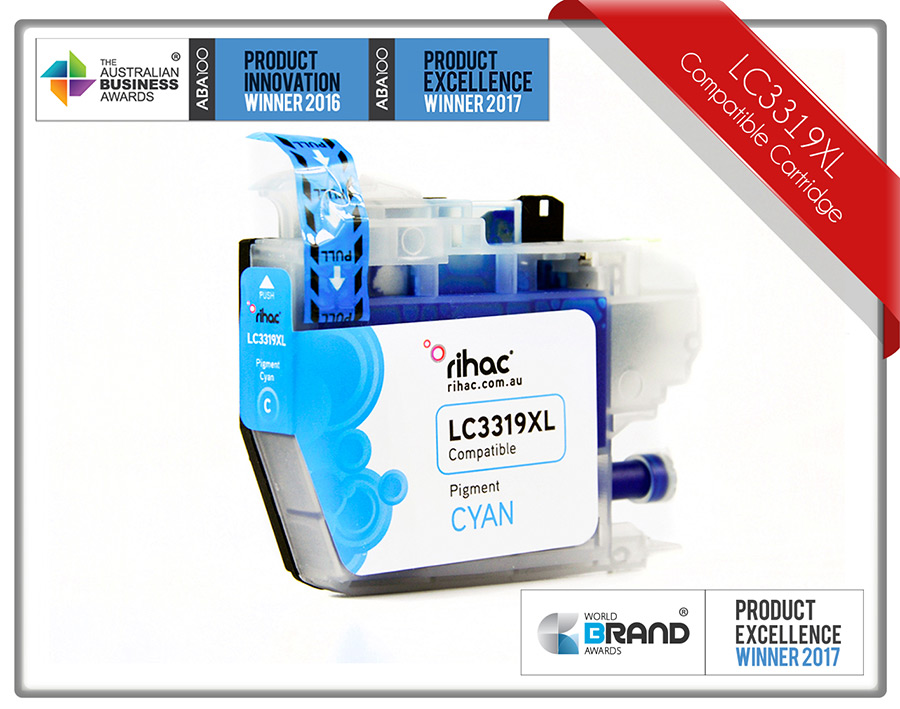 LC3319XL Cyan Ink Cartridge