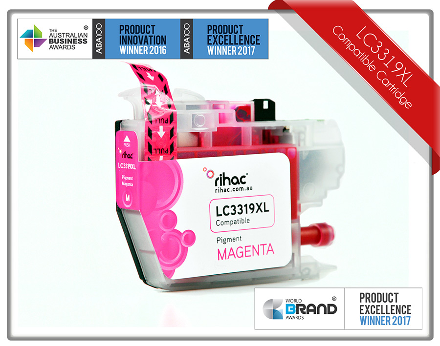 LC3319XL Magenta Rihac Ink Cartridge