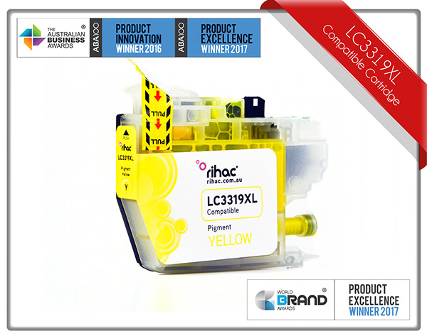 LC3319XL Yellow Rihac Ink Cartridge