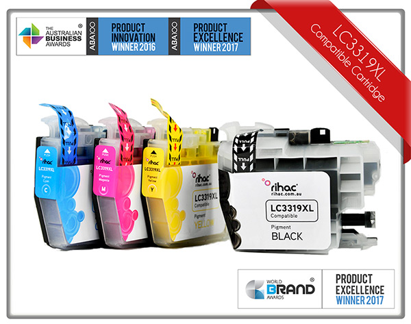 4 x Set LC3319XL Rihac Ink Cartridge Set