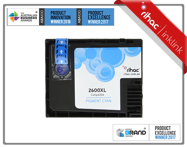 2600XL Cyan Non Genuine Ink Cartridge