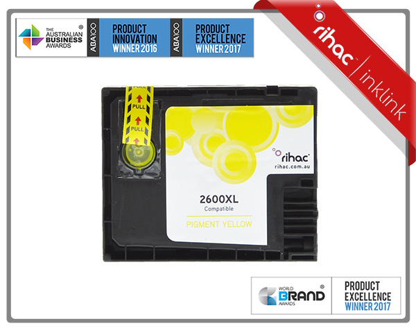 2600XL Yellow Non Genuine Ink Cartridge