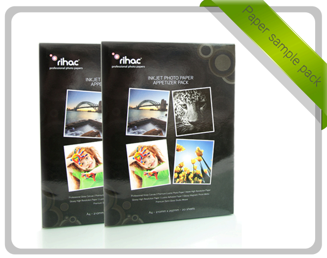 Double Paper Sample Pack