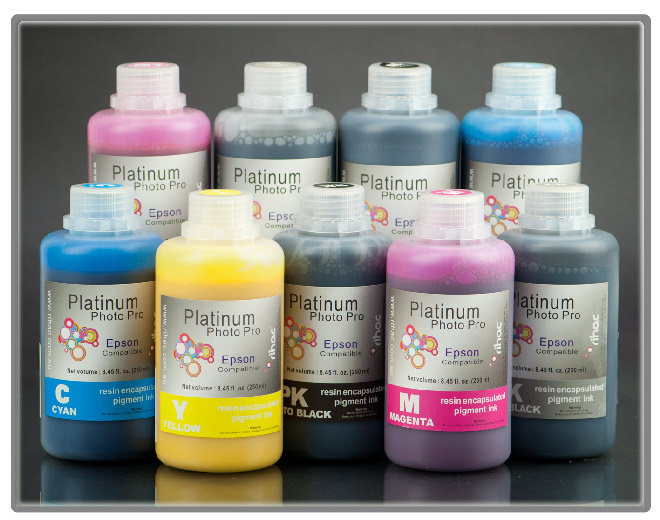 Photo Pro 9 x 250ml Pigment Ink Set - 7890