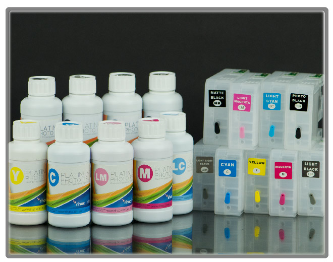 3800 100ml Starter Kit- Cartridges & Ink